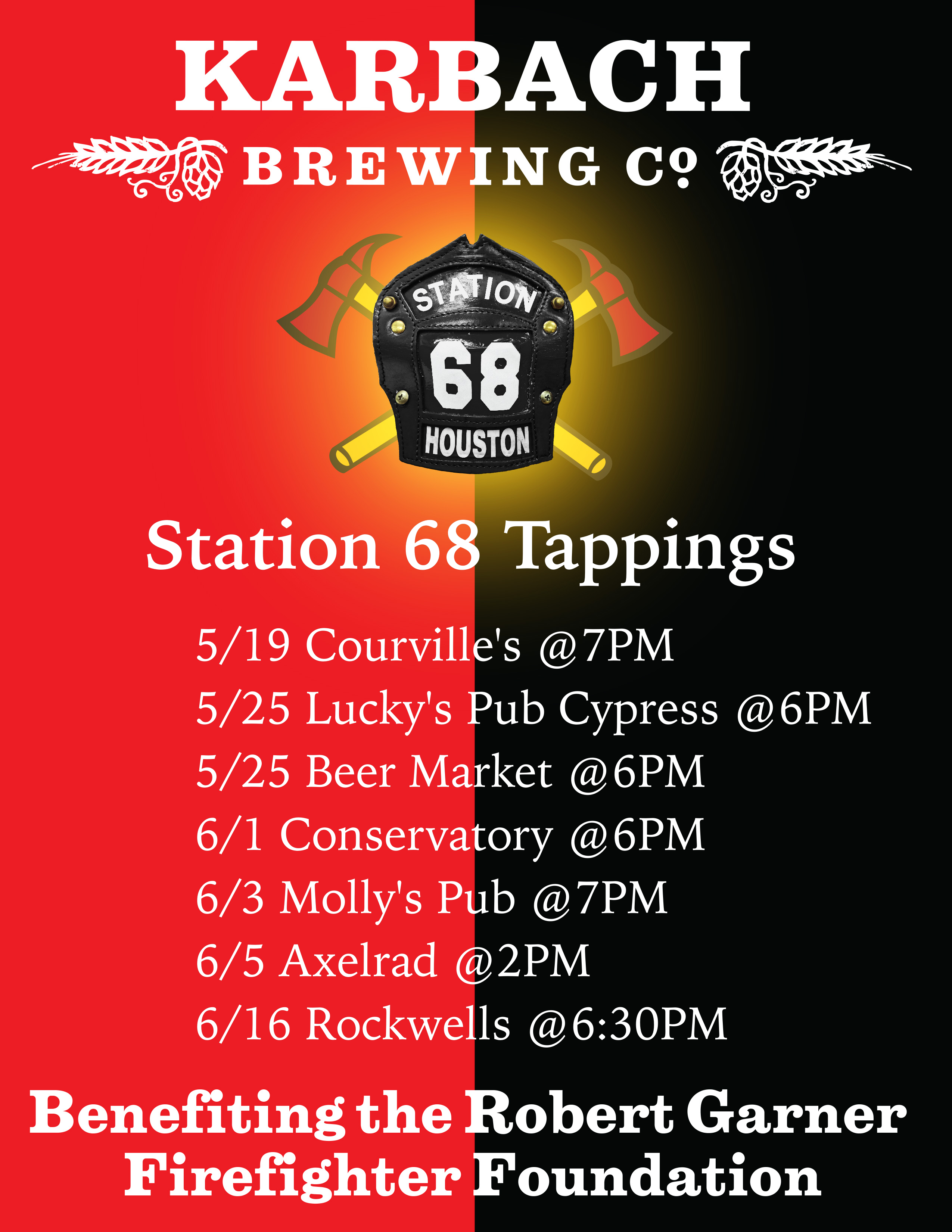 Station 68 Upcoming Events
