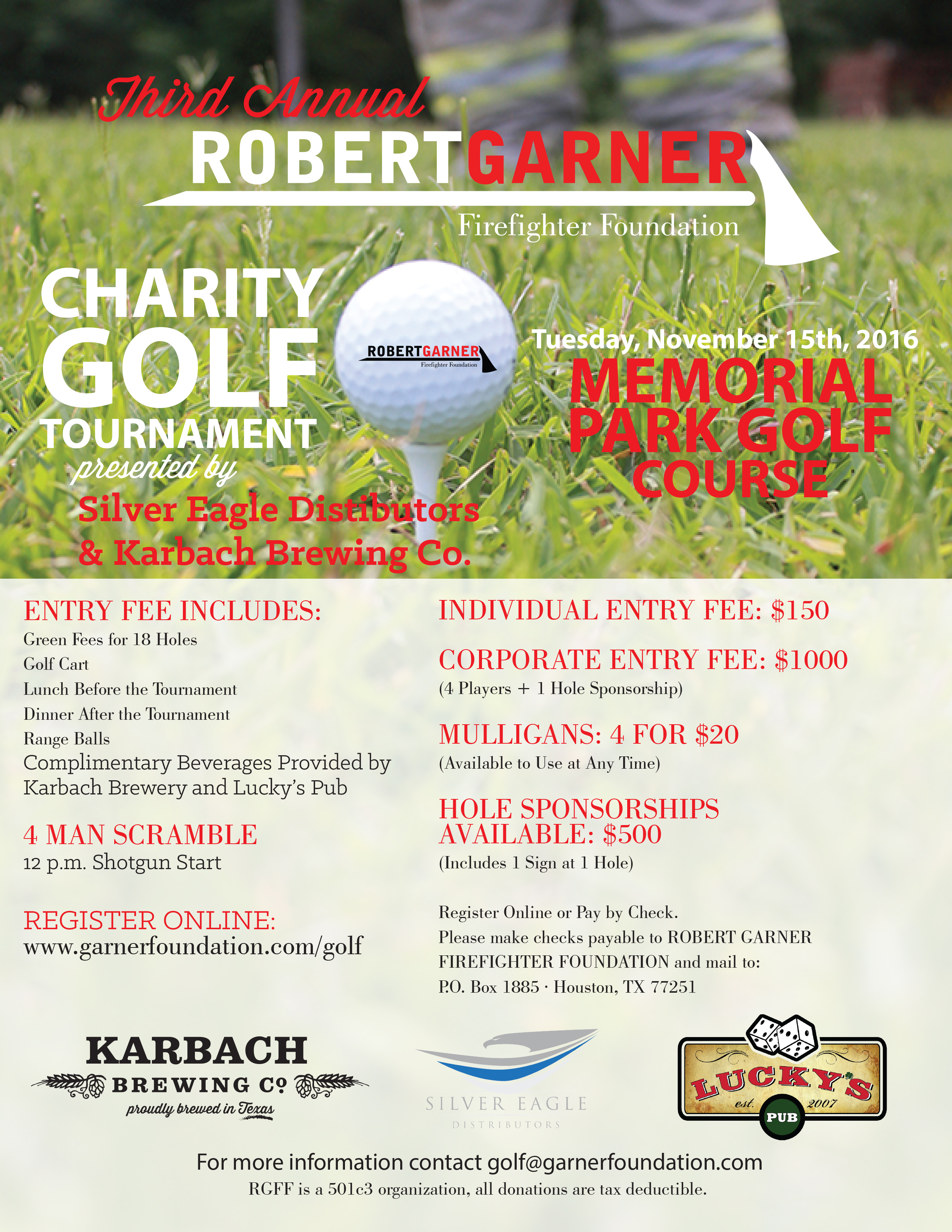RGFF Charity Golf Tournament 11_15