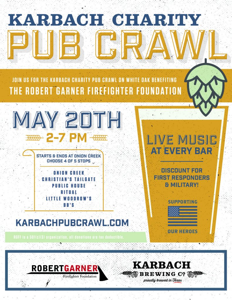 Karbach Charity Pub Crawl @ Onion Creek  | Houston | Texas | United States